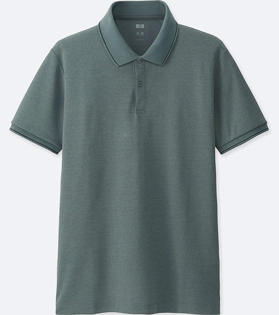平價款: Uniqlo Dry Ex polo