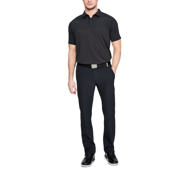 UNDER ARMOUR 2018早秋Microthread Calibrate POLO衫售價2,680元。(圖 SUPER GOLF提供)