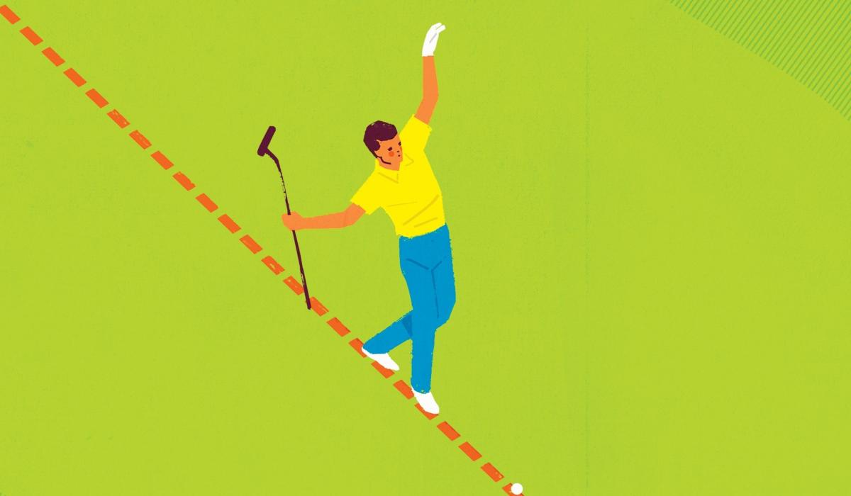 推桿一點訣:讓每一記推球都在正確路線上開始滾動 - 推桿 - GolfDigest高爾夫文摘