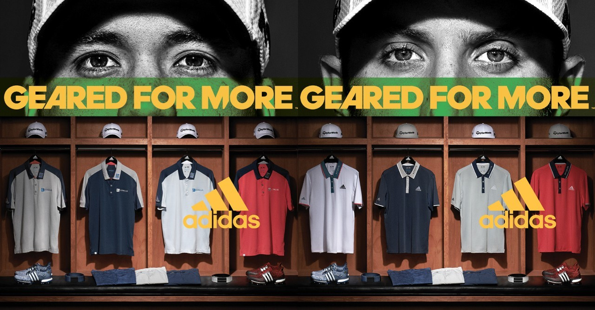 adidas Golf發表2016年Geared For More春夏新品