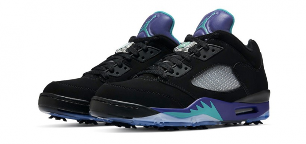 Nike Golf Air Jordan 5 Low Golf 「Black Grape」人氣配色高爾夫球鞋 限量登場